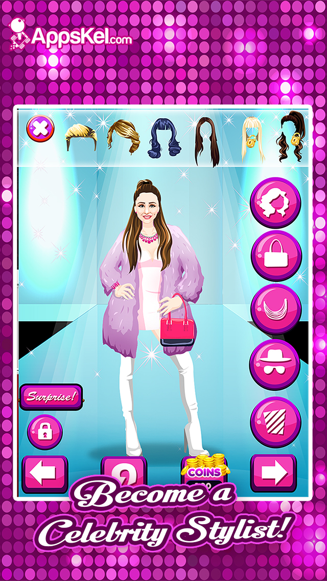 My Celebrity BFF Dress Up Look– Swift Celeb Mashup Songs Booth Games