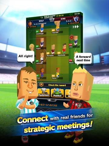 POCKET FOOTBALLER PLUS - A football player game screenshot 9