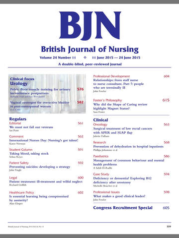 British Journal of Nursing screenshot 7