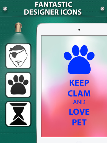 Keep Calm And Carry On Wallpapers & Posters Creator with Funny Icons & Logos screenshot #4