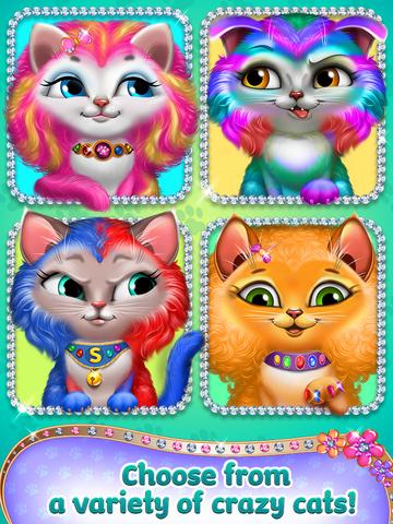 Crazy Cat Salon - Furry Makeover screenshot 9