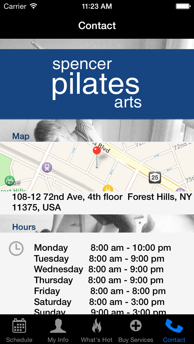 Spencer Pilates Arts screenshot #4