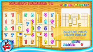 Mahjong Mystery: Case of Numbers screenshot 3