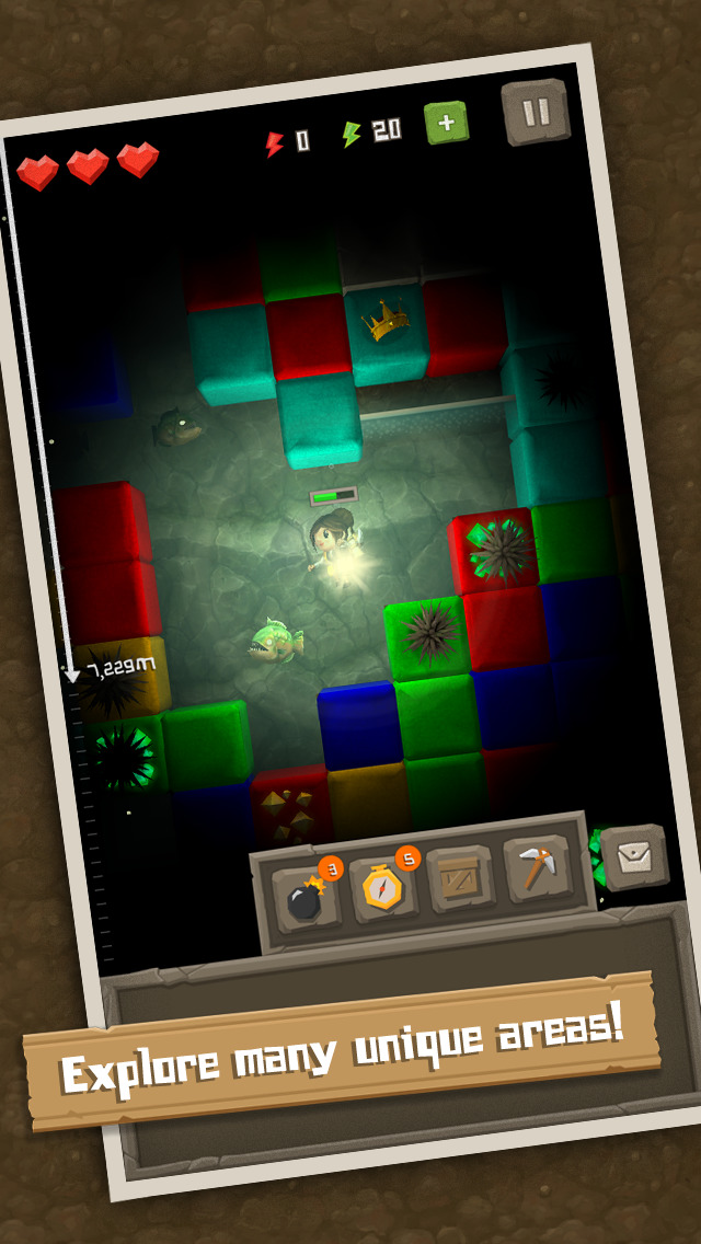 Puzzle to the Center of Earth screenshot 5