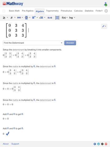 Mathway screenshot 8