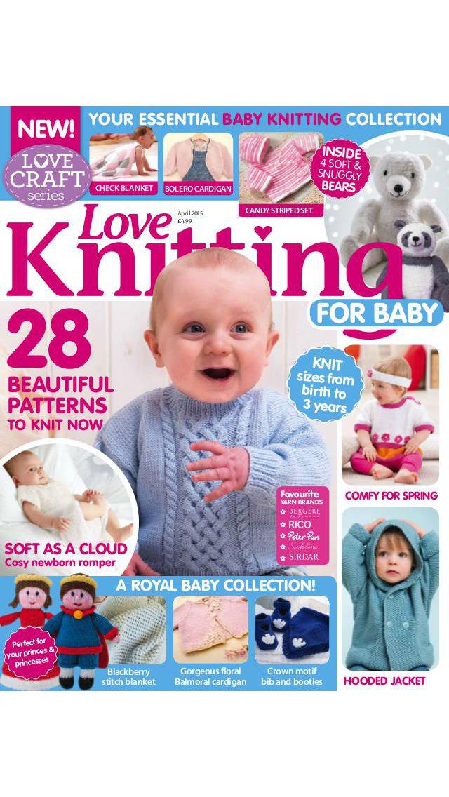Love Knitting for Baby screenshot 1