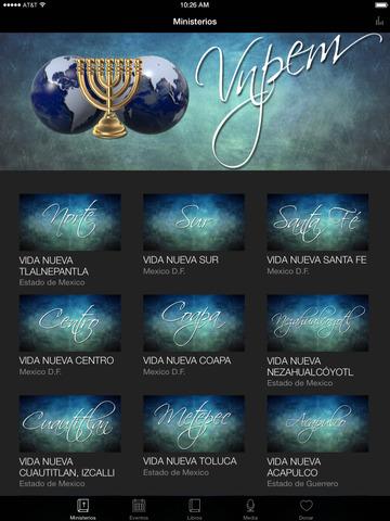 VIDA NUEVA PARA EL MUNDO screenshot 4