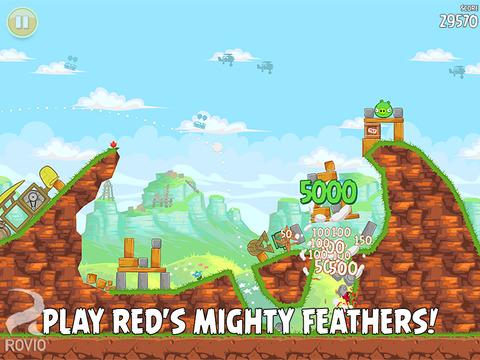 Angry Birds HD Free screenshot 5