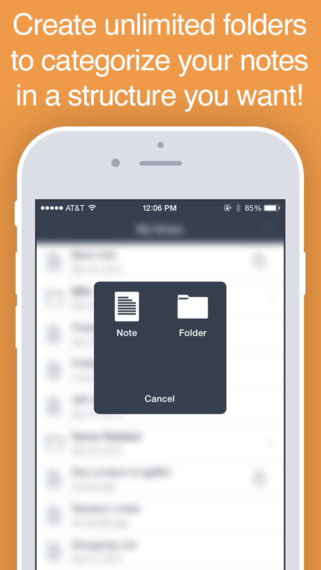 NotesPro - Secure Notes with Folders and Passcode screenshot 3