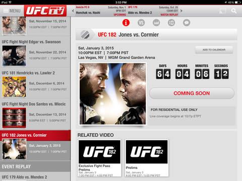 UFC ® screenshot 6