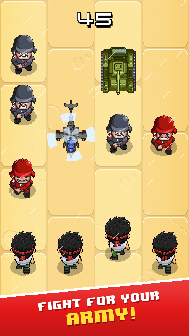 Tap Army screenshot 1