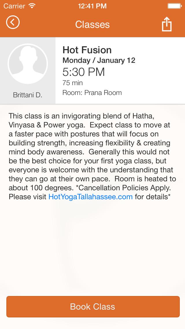 Hot Yoga Tallahassee screenshot #4