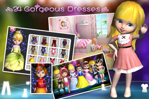 Ava the 3D Doll - náhled