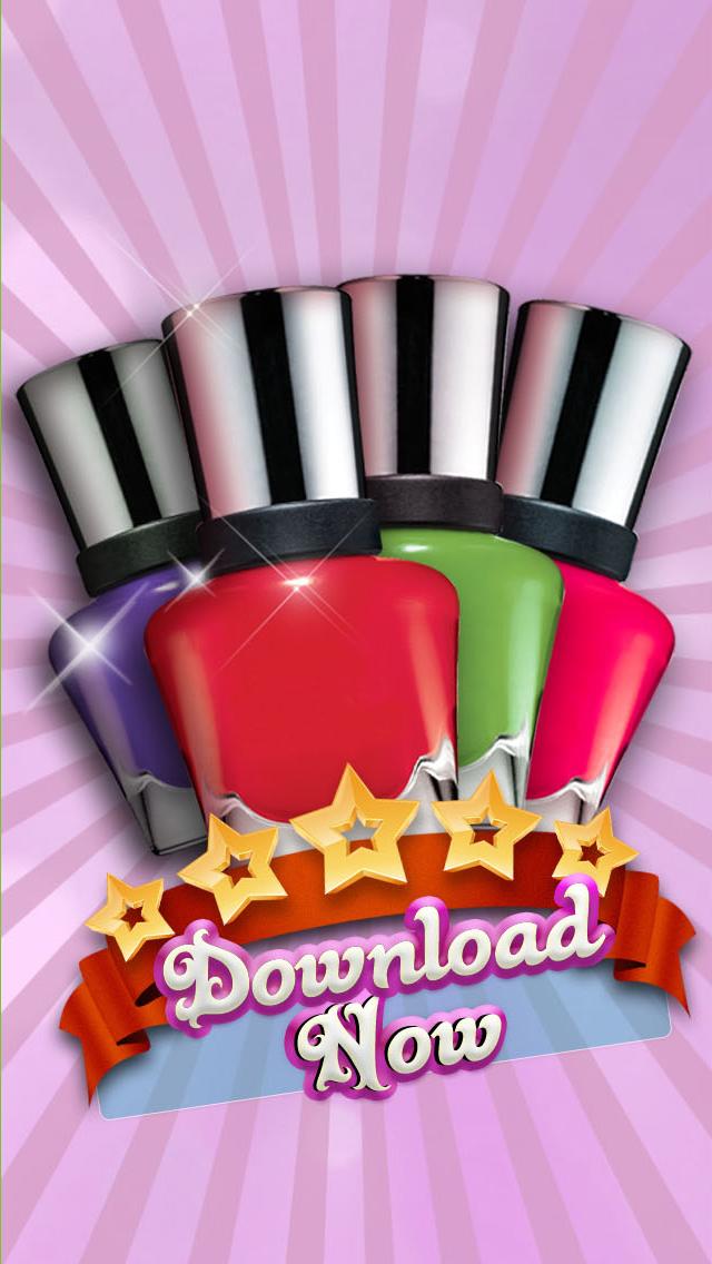 Adorable Princess Nail Salon - Free Makeover Game for Girls screenshot 2