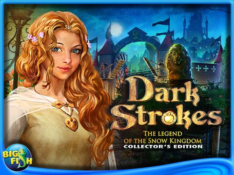 Dark Strokes:  The Legend of the Snow Kingdom HD – A Hidden Object Mystery screenshot 5