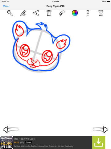 Learn To Draw Cute Anime Animals screenshot 8