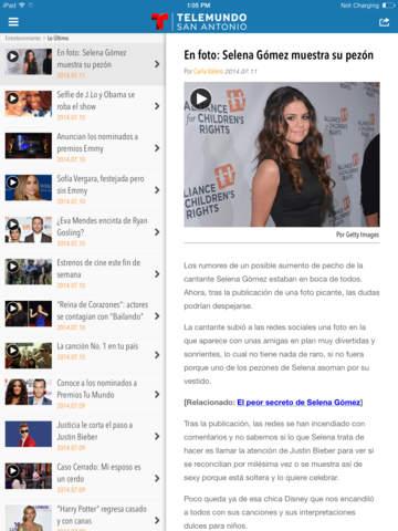 Telemundo 60 San Antonio screenshot 9