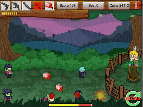 Tiny Zombies The Barricade Free screenshot 9
