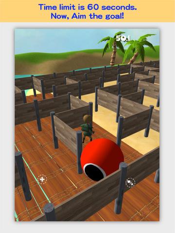 3D Maze Robo screenshot 9