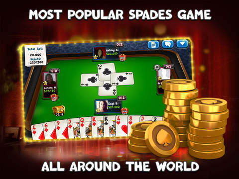 Spades Plus - Card Game screenshot 7