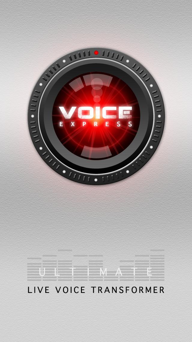 Voice Changer Pro X screenshot 1