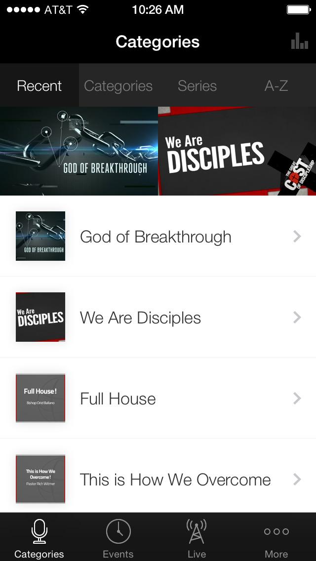 Destiny Christian Church screenshot 1