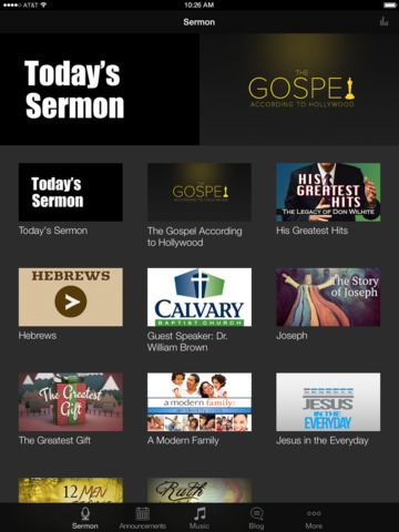 Calvary Baptist Church screenshot 4
