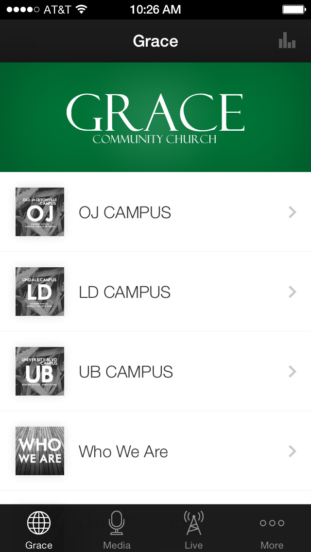 Grace Community screenshot 1