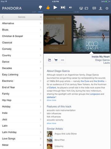 Pandora: Music & Podcasts screenshot 7
