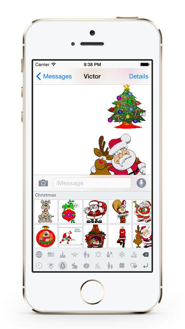 Holiday GIF Keyboard screenshot 2