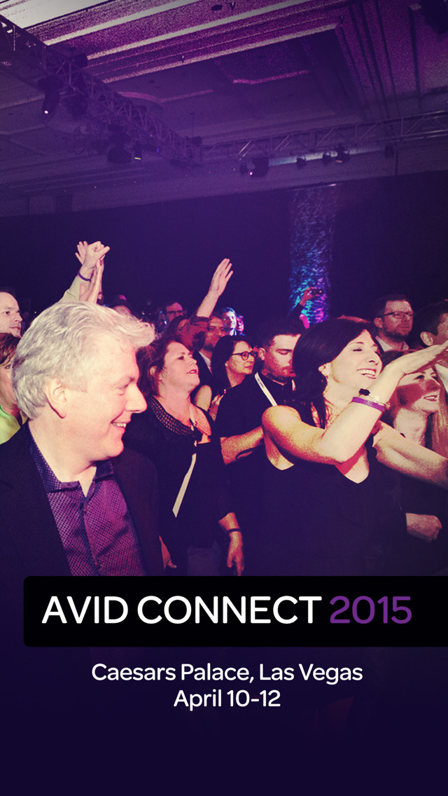 Avid Connect 2015 screenshot 1