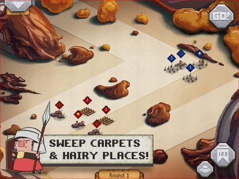 Romans In My Carpet! screenshot 8