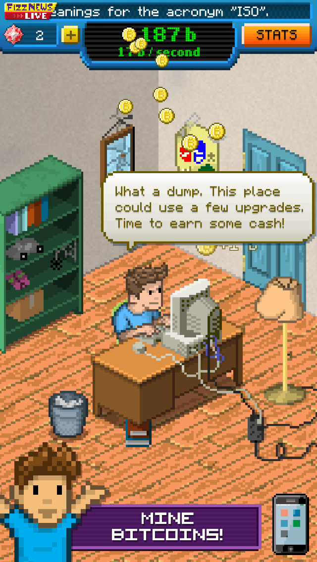 Bitcoin Billionaire screenshot 1