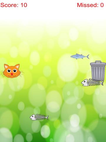 Distinguish Food And Rubbish: Feed Cute Cat With Fish Free screenshot 6