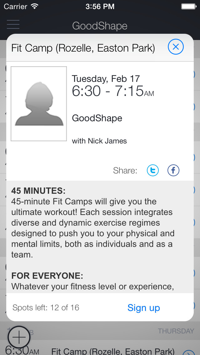 GoodShape Training screenshot 3