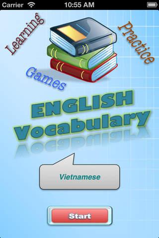 English Vocabulary (Learning & Practice) - náhled