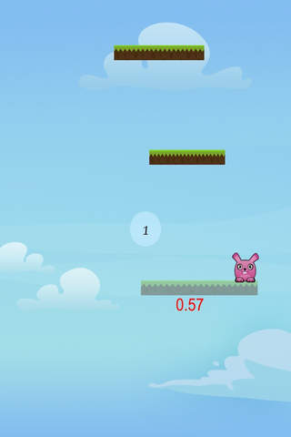 Pink Bunny Jump Free - náhled