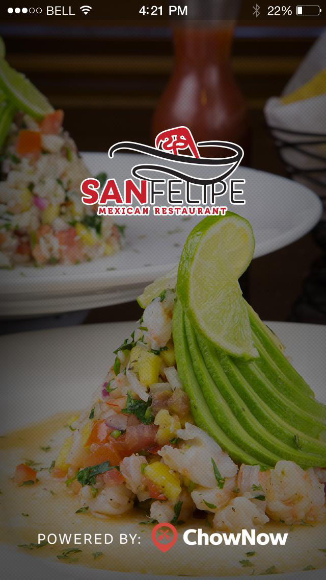 San Felipe Mexican Restaurant screenshot 1