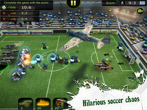 FootLOL - Crazy Soccer screenshot 6