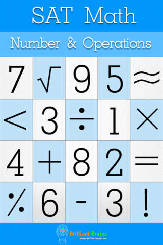 SAT Math : Number & Operations Lite - náhled