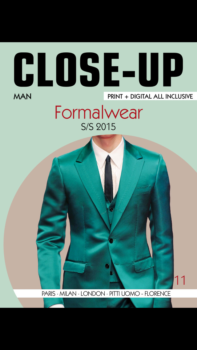 Close-Up Man Formalwear screenshot 1