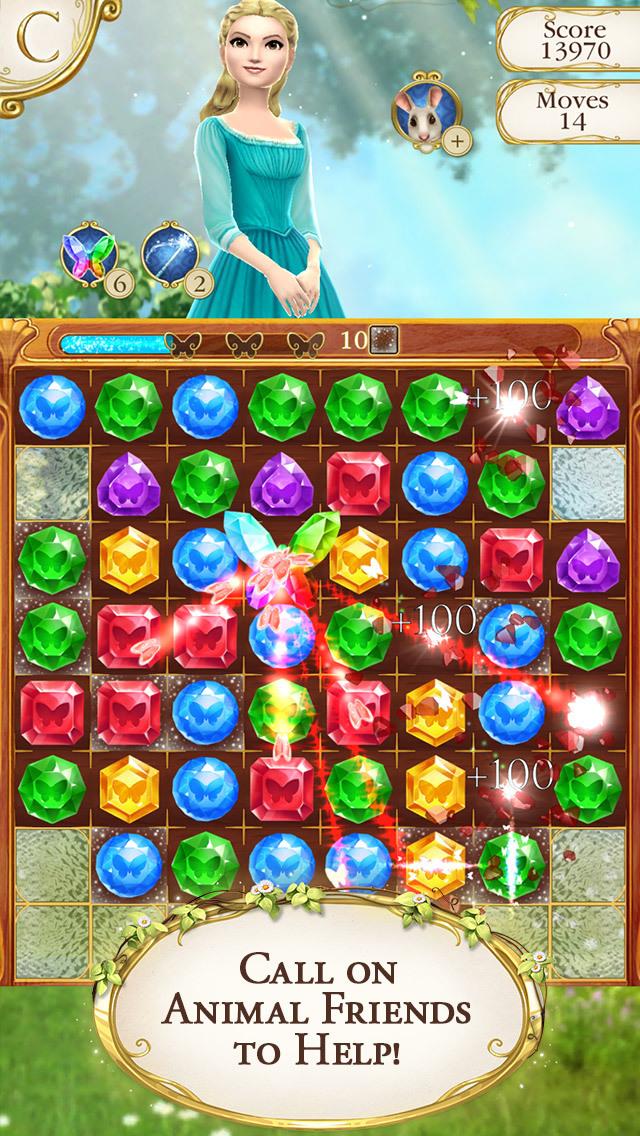 Cinderella Free Fall screenshot 3
