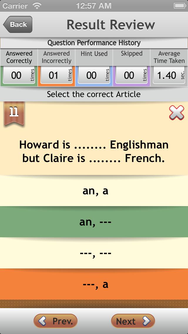 Grammar Expert : English Grammar Advanced FREE screenshot 5