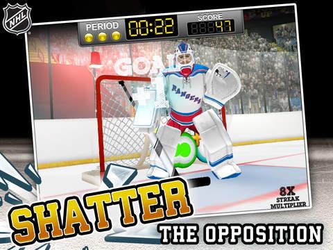 NHL Hockey Target Smash screenshot 6