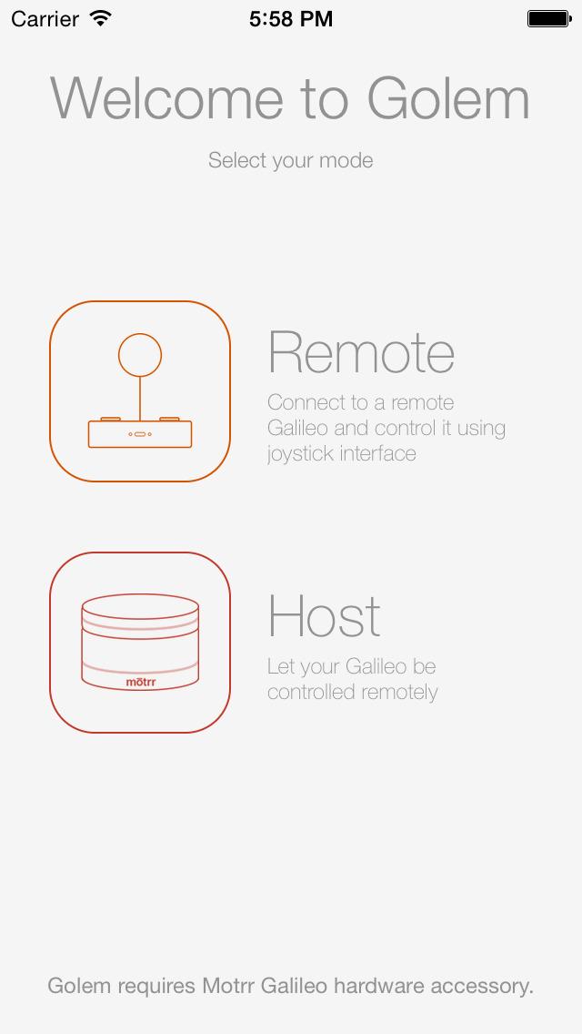 Golem – Telepresence made fun screenshot 1