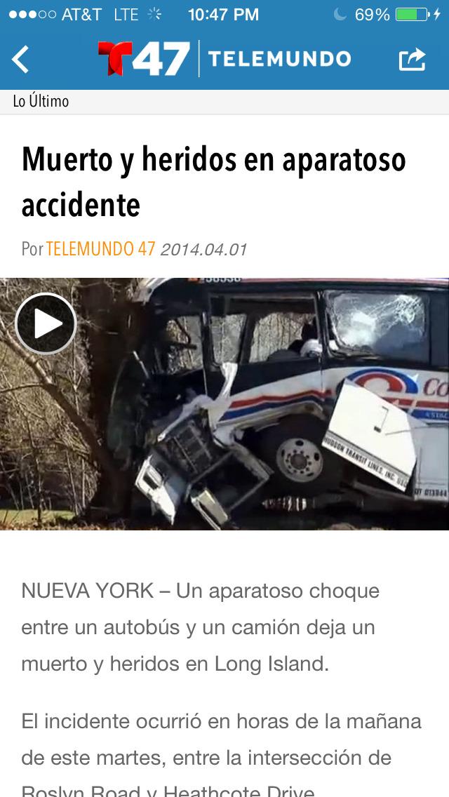 Telemundo 47 screenshot 4
