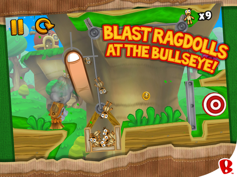 Ragdoll Blaster 3: Deluxe HD screenshot 2