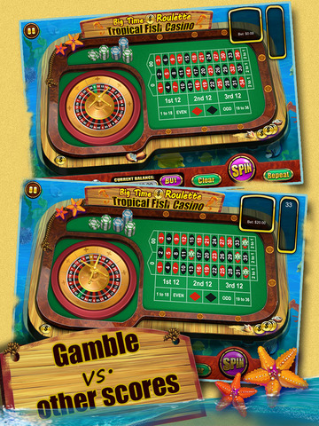 Roulette of Tropical Fish Casino 777 (Win Big) screenshot 8