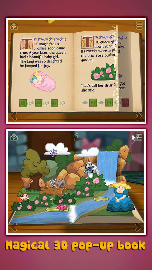 StoryToys Sleeping Beauty screenshot 1