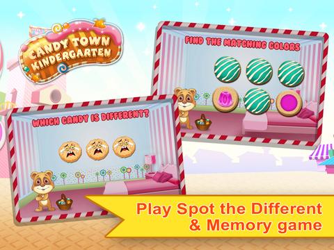 Candy Town Kindergarten - Kids educational app screenshot 10